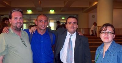 Cluj Team in Deva -- Dave, Sergiu, Victor, Lili