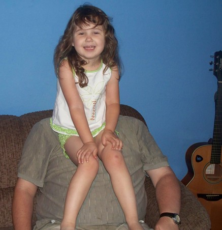 Briana & her Daddy