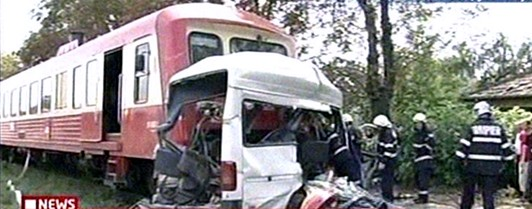 A crash in Iasi, Romania, Friday that instantly took 13 lives